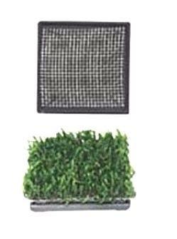 Placa Cerâmica com Tela Inox P/Cultivo de Plantas Ista EDD05