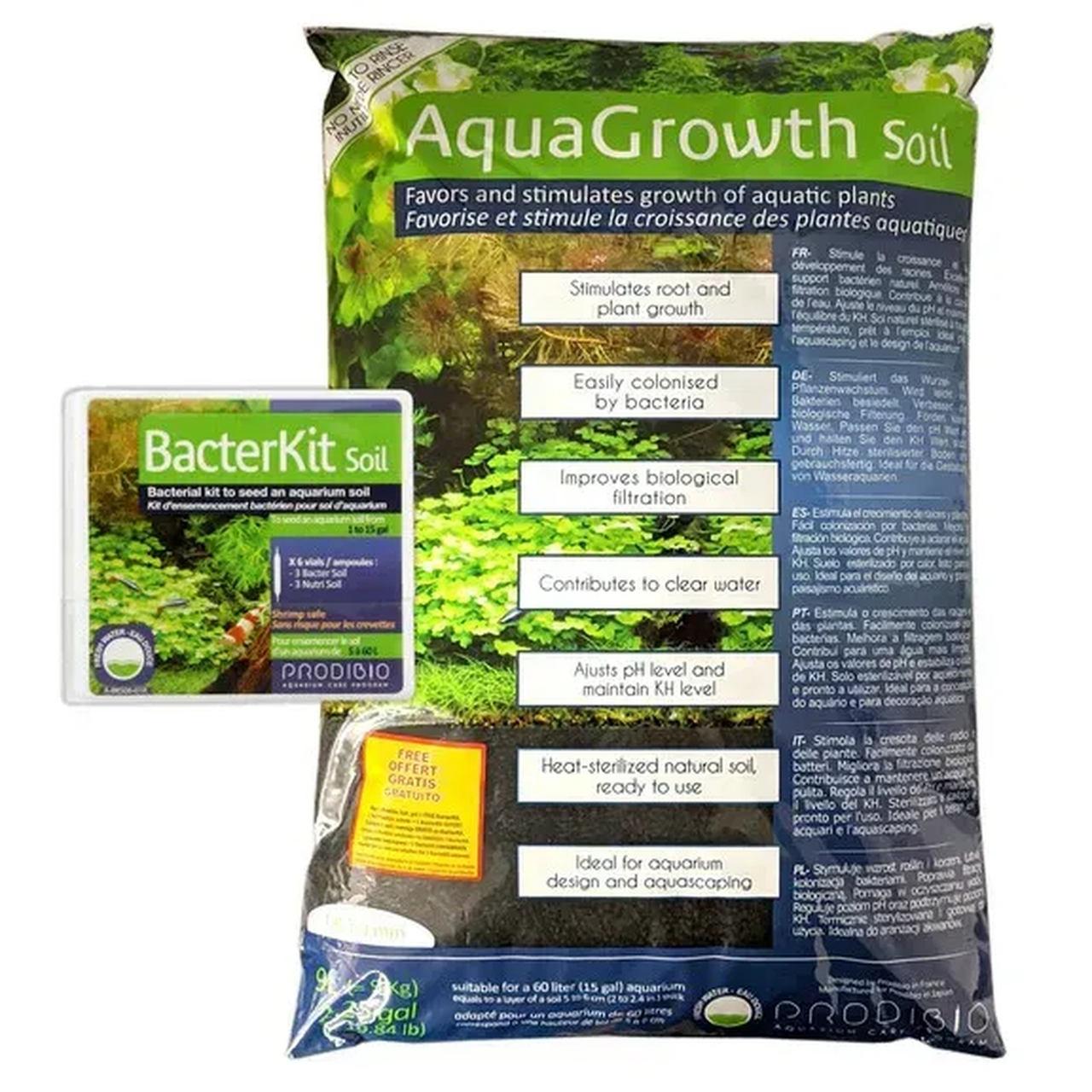 Prodibio Aquagrowth Soil Substrato Fértil P/ Plantados