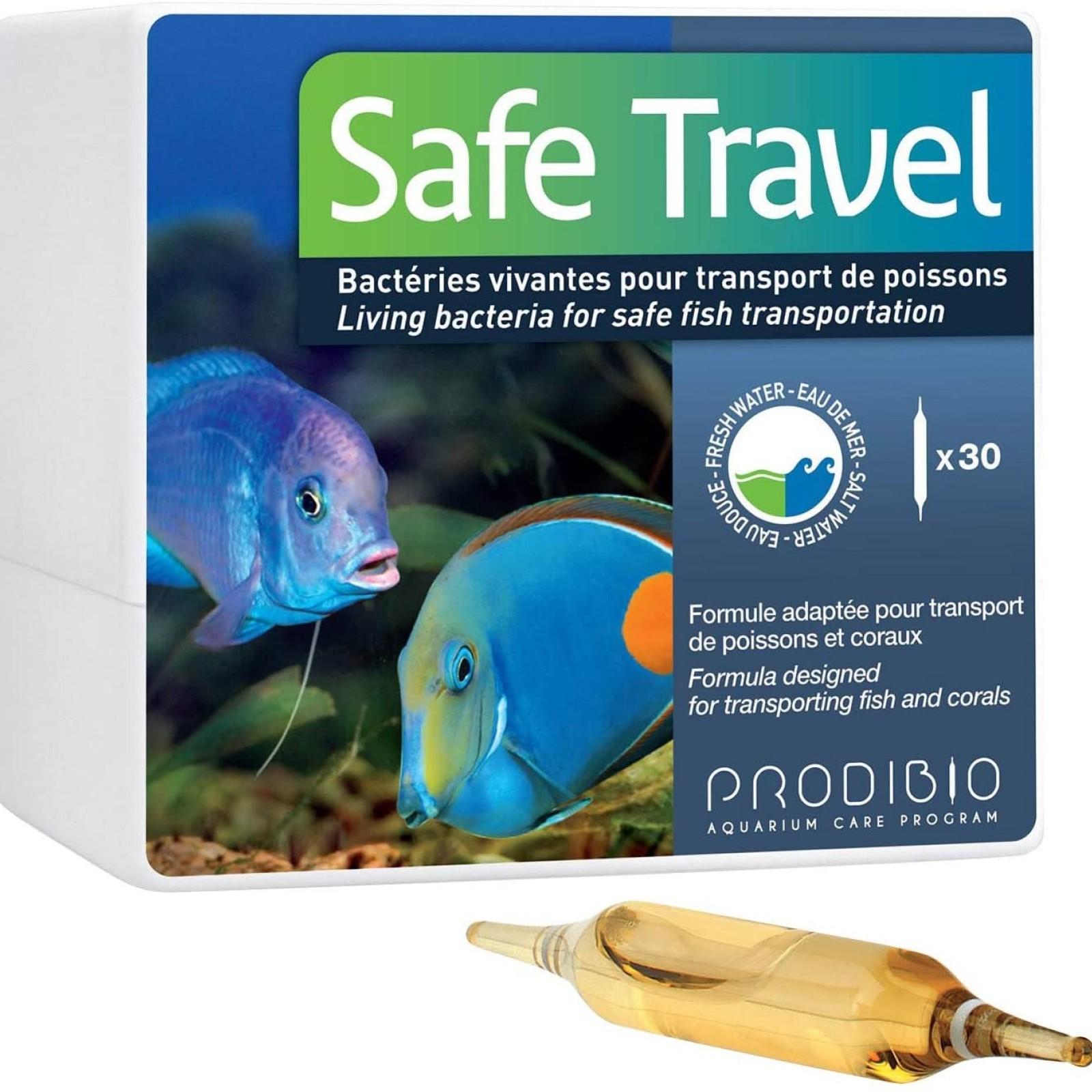 Prodibio Safe Travel AntiEstresse Transporte Peixe