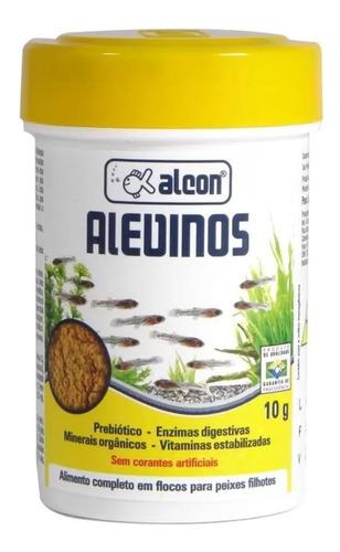 Ração Alcon Alevinos Para Peixes Alevinos 10g