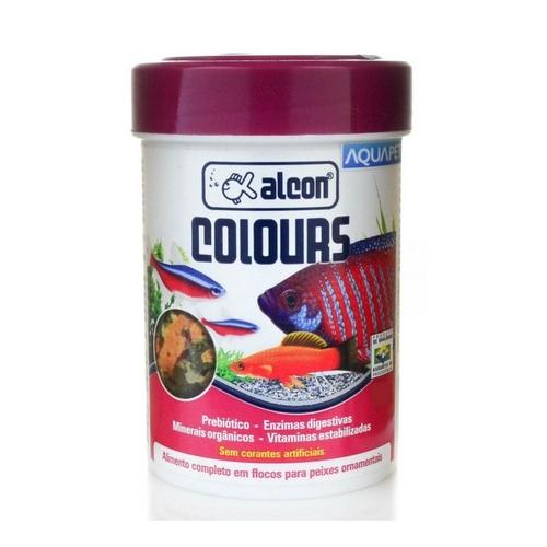 Ração Alcon Colours Sem Corantes Artificiais
