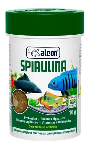 Ração Alcon Spirulina Para Peixes Ornamentais