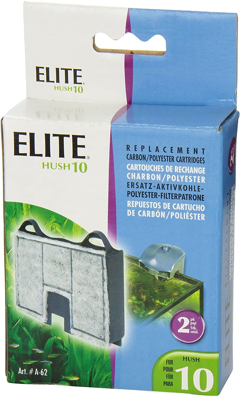 Refil Filtro Elite Hush 10 Cx C/ 2un Novo Original