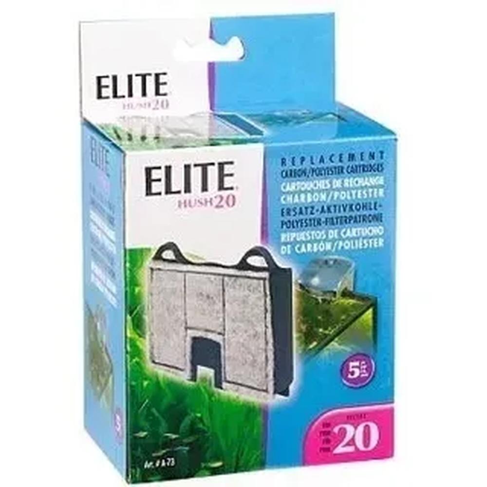 Refil Filtro Elite Hush 20 Caixa C/ 2un Novo Original
