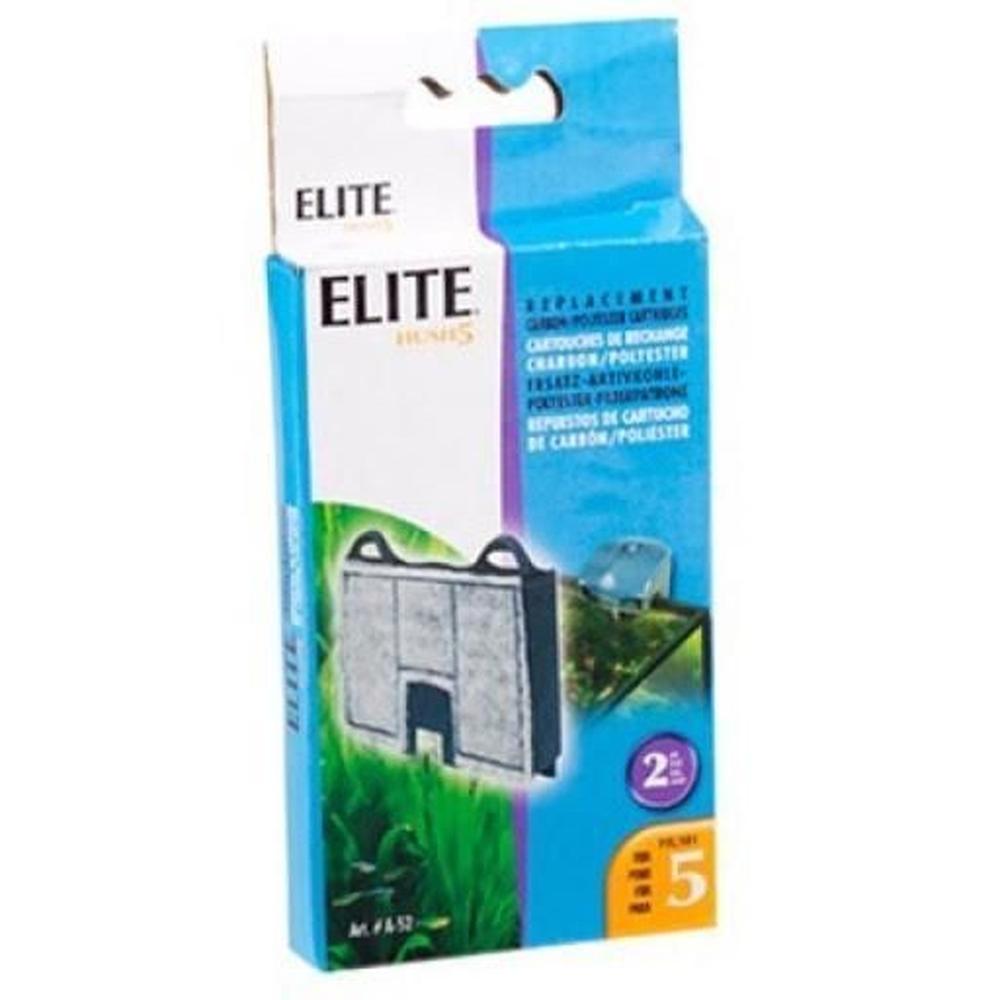 Refil Filtro Elite Hush 5 Cx C/ 2un Novo Original