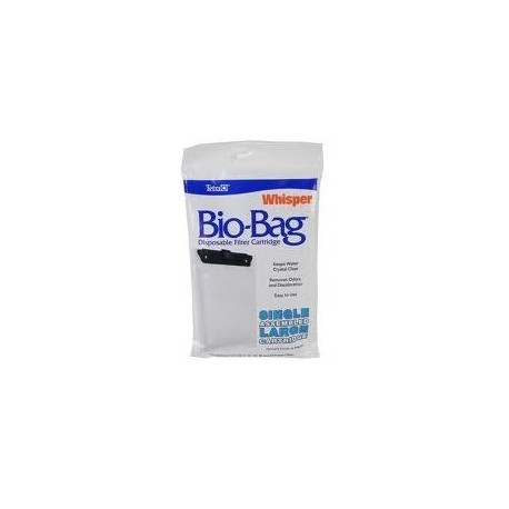 Refil Filtro Whisper Bio Bag Modelos 20,30,40,60 Large Tetra