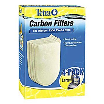 Refil Filtro Whisper Ex30 Ex45 Ex70 Tetra - 04 Un.