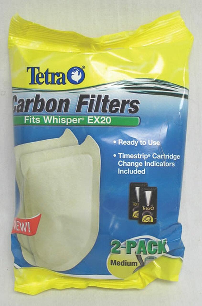 Refil Filtro Whisper Medium Bio Bag Ex 20 Tetra C/ 2un