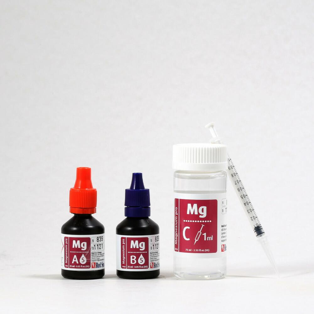 Refil Teste de Magnésio Pro Mg Red Sea Aquário Marinho