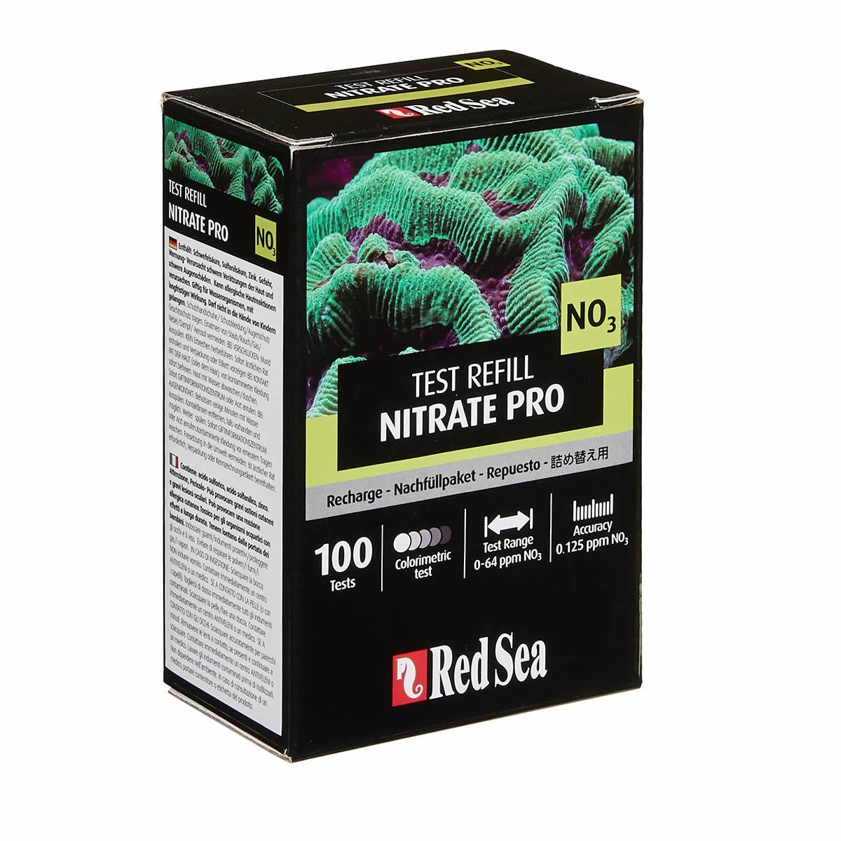 Refil Teste de Nitrato Pro NO3 Red Sea Aquário Marinho