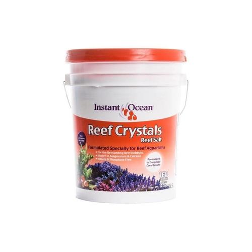 Sal Marinho Instant Ocean Reef Crystals 20,3kg Faz 605 L