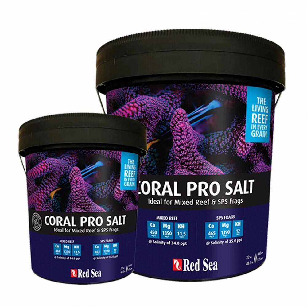 Sal Marinho Red Sea Salt Coral Pro Balde De 22kg Faz Até 660l