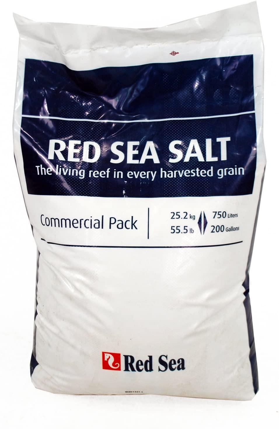 Sal Marinho Red Sea Salt Saco De 25.2kg Faz Até 750l