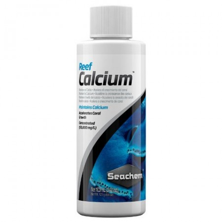 Seachem Reef Calcium Suplemento De Cálcio para Marinho