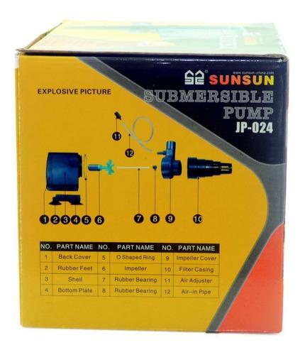 Sunsun Bomba Submersa Jp 024 1200l/h