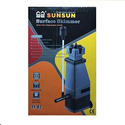 Sunsun Jy-02 Filtro Skimmer De Superfície Aquários