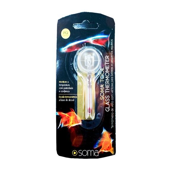 Termômetro De Vidro Pequeno Para Aquário Rx-c007 Soma