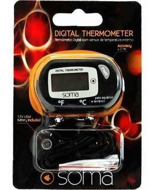 Termômetro Digital Com Sensor De Temperatura Soma