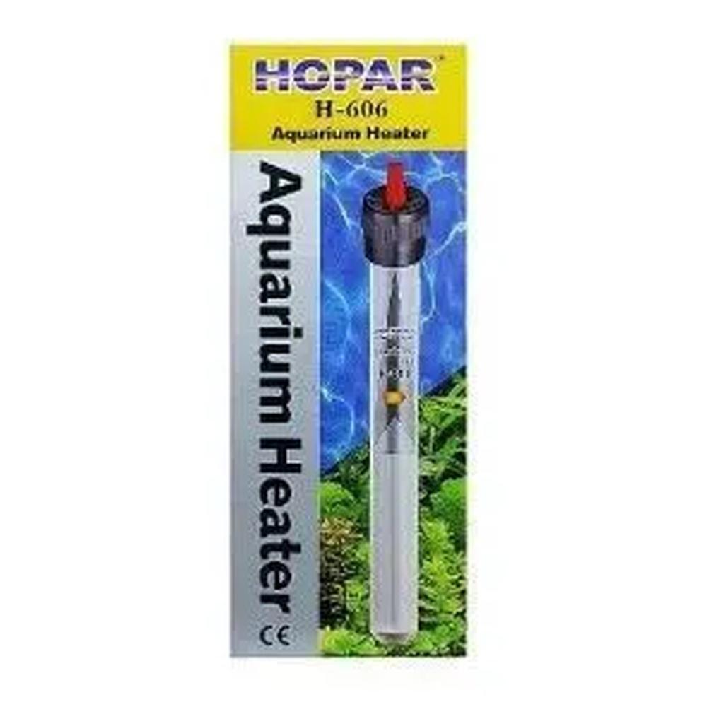Termostato Com Aquecedor Hopar H-606 100W Para Aquários