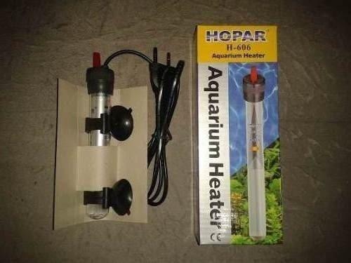 Termostato Com Aquecedor Hopar H-606 50W Para Aquários 220V