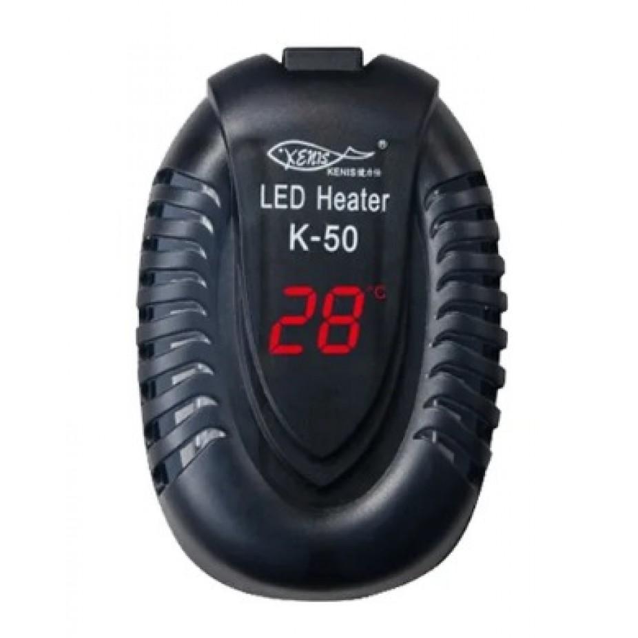 Termostato Hopar K-50 50W P/ Aquários Até 50L