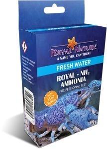 Teste de Amônia NH3 Royal Nature 100 Testes Água Doce
