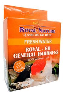 Teste De Dureza Geral Gh Royal Nature 120 Testes Água Doce