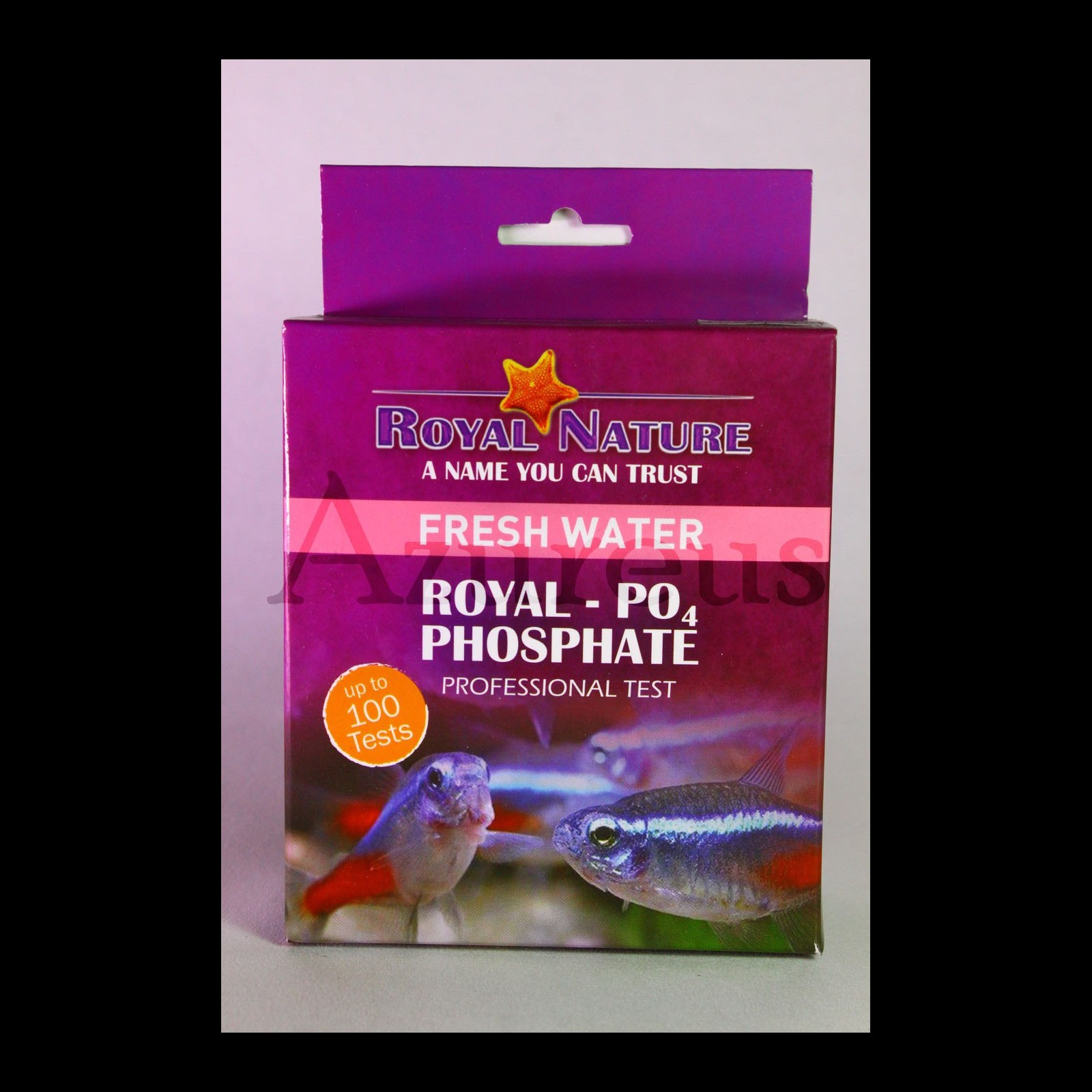 Teste De Fosfato Po4 Royal Nature 100 Testes Água Doce