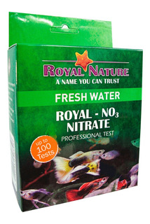 Teste De Nitrato No3 Royal Nature 100 Testes Água Doce