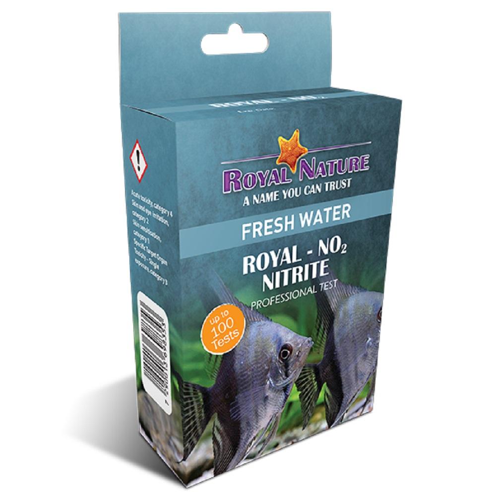 Teste De Nitrito No2 Royal Nature 100 Testes Água Doce