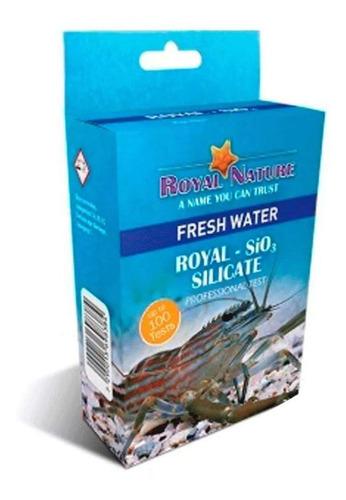 Teste De Silicato SiO3 Royal Nature Água Doce 100 Testes