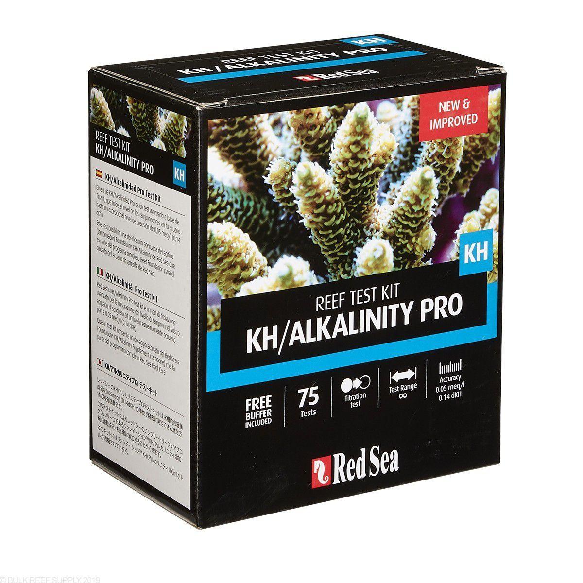 Teste Red Sea Reef Kit Test Kh-alkalinity Pro (kh)