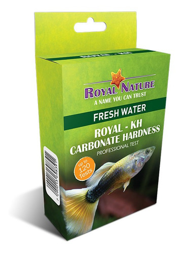 Teste Reserva Alcalina Kh Royal Nature 120 Testes Água Doce