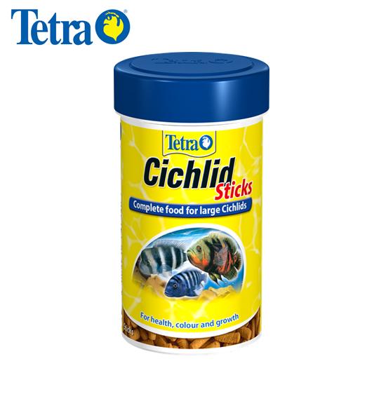 Tetra Cichlid Sticks Ração para Peixe Ciclídeo 75g