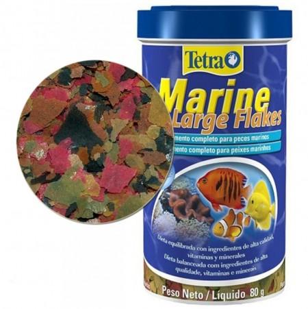 Tetra Marine Large Flakes Ração Peixes Marinhos 80g