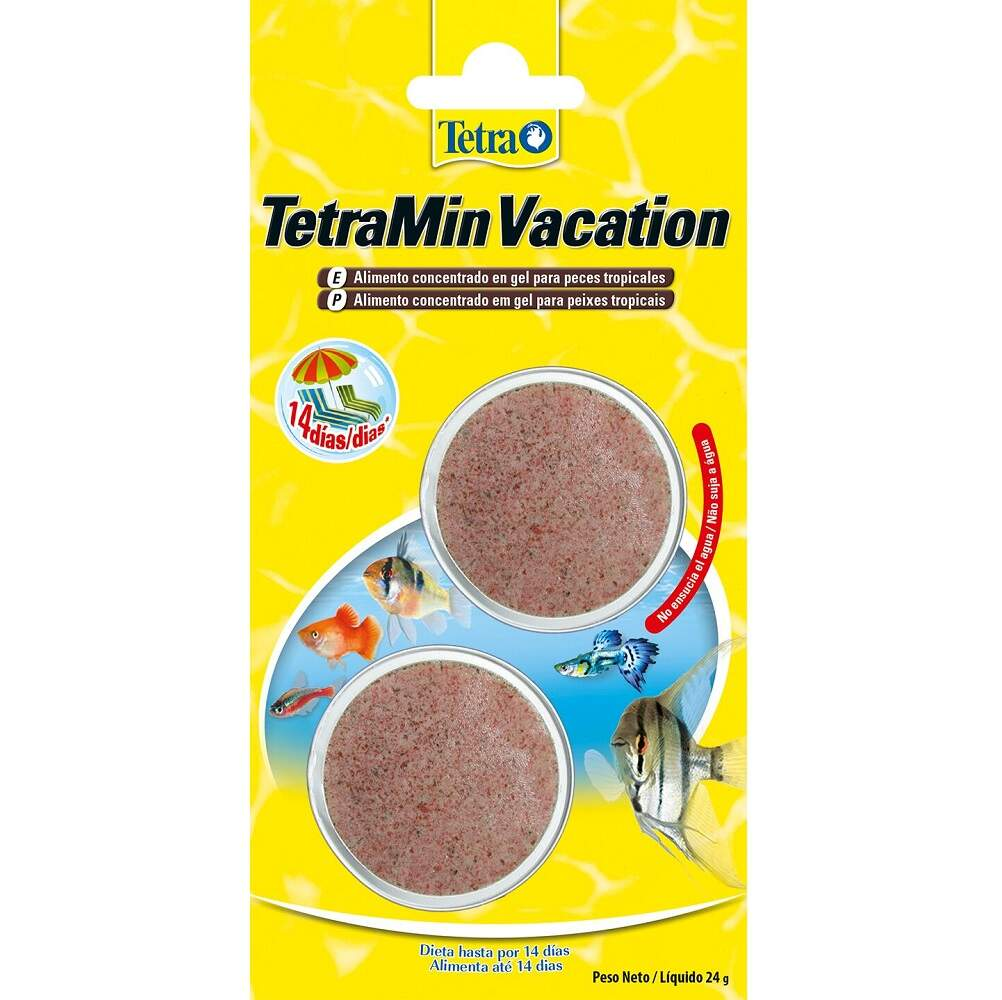 Tetra Min Vacation 24g Ração De Férias Em Gel