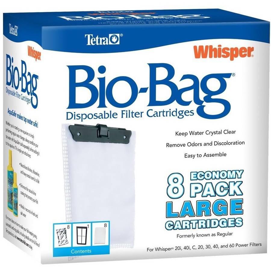 Tetra Whisper Bio Bag Large 8 Pack - Caixa Com 8 Refis