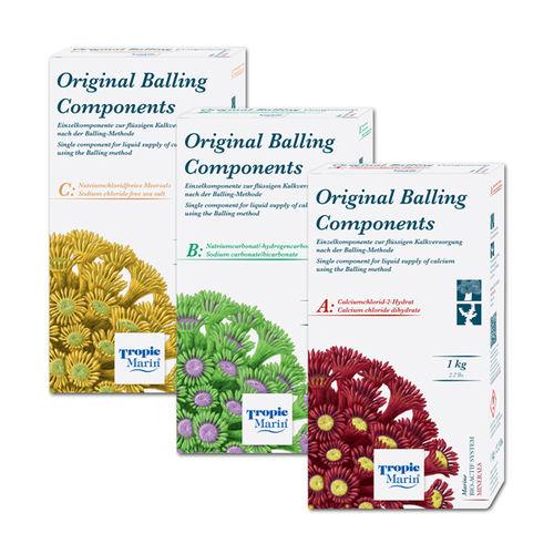 Tropic Marin Bio-calcium Original Balling Kit A B C 3x 1kg
