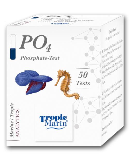 Tropic Marin Teste De Fosfato Po4 P/ Aquário Marinho Ou Doce