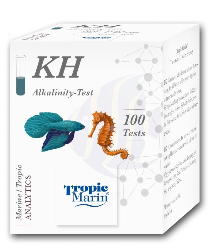 Tropic Marin Teste Kh Alcalinidade 100 Testes Marinho E Doce