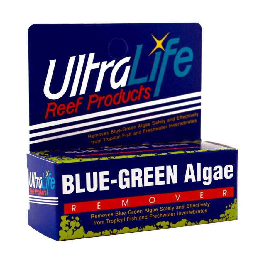 Ultralife Blue Green Slime Remove Algas Azuis Trata Até 567L