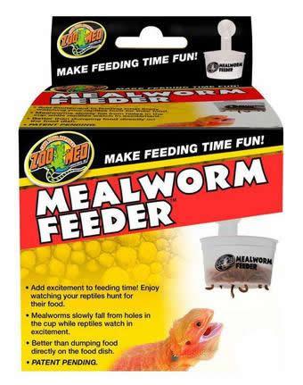 Zoomed Mealworm Feeder Alimentador De Tenebrios P/ Répteis