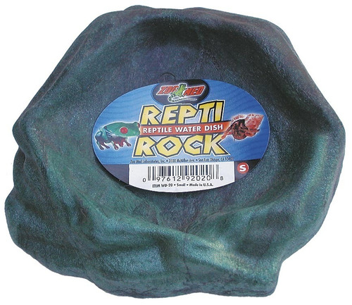 Zoomed Repti Rock Bebedouro Pequeno Wd-20 P/ Répteis