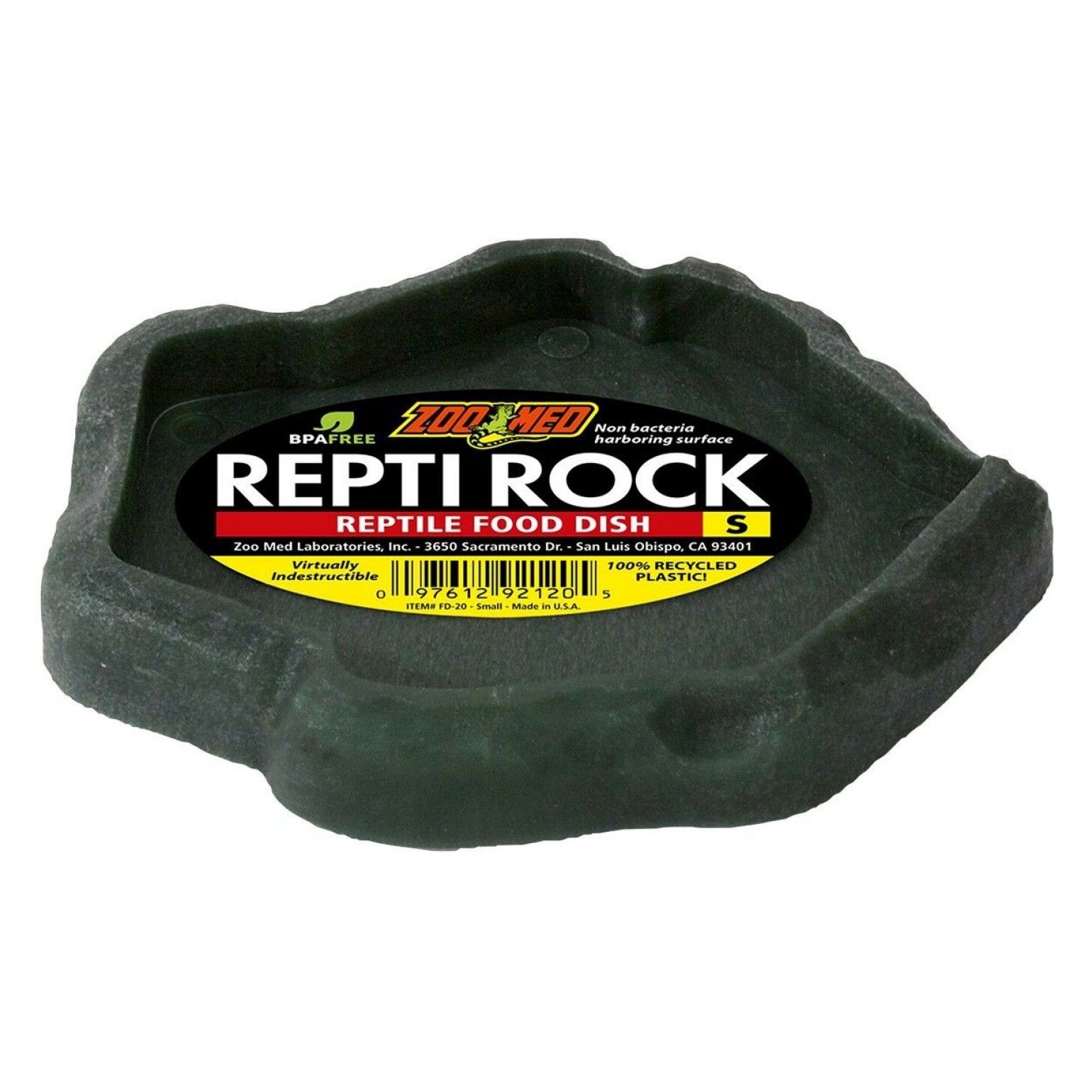 Zoomed Repti Rock Comedouro Pequeno Fd-20 P/ Répteis