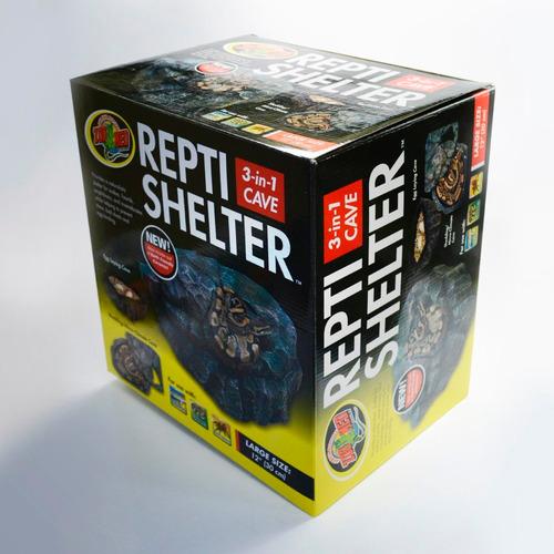 Zoomed Repti Shelter RC-32 Toca Abrigo Medio Para Répteis