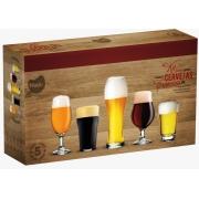 Jogo de Copos para Cervejas Especiais 5 peças - 0851