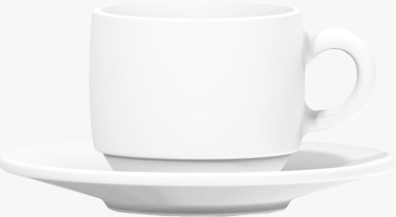 Xícara Café Opaline com pires  90ml