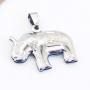 Pingente Elefante Indiano  Aço