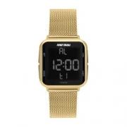Relógio Digital Mormaii Digi Dourado MO6600AH/8D