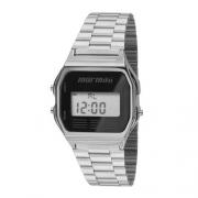 Relógio Digital Mormaii Prata MOJH02AA3P